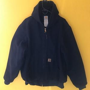 Carhartt Men's Dark Navy XL Duck Active Jacket